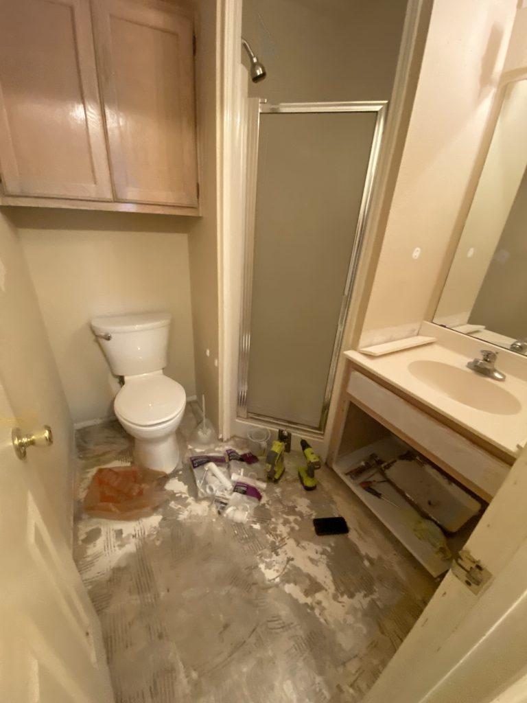 Alamo Heights bathroom remodel